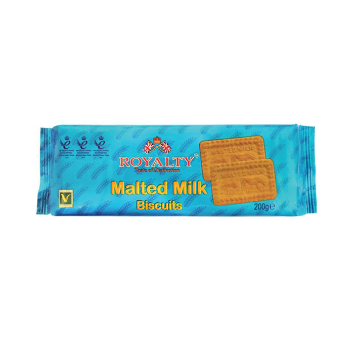 Royalty Malted Milk Biscuits