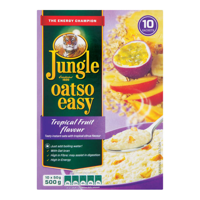 Jungle  Oatso Easy Tropical Fruit Cereal
