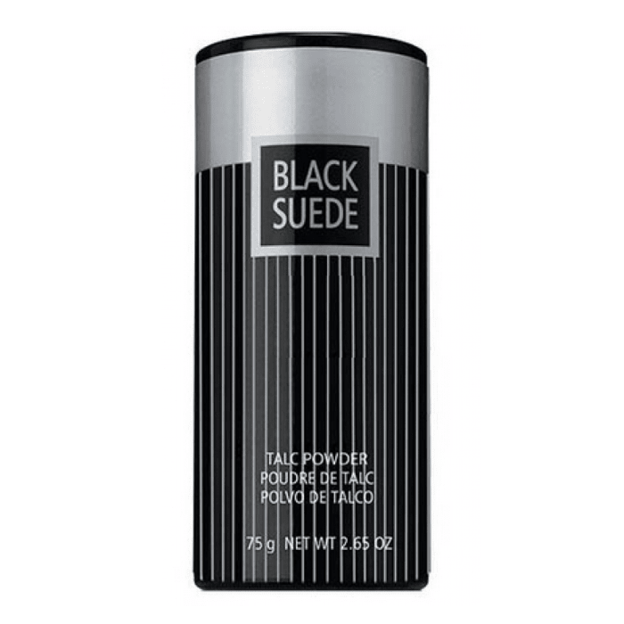 Black Suede Talcum Powder