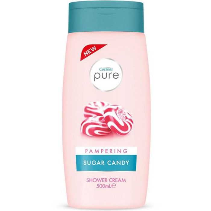 Cussons Pure Shower Cream Pampering Sugar Candy 500Ml