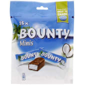 Bounty Minis Tender Coconut Chocolate