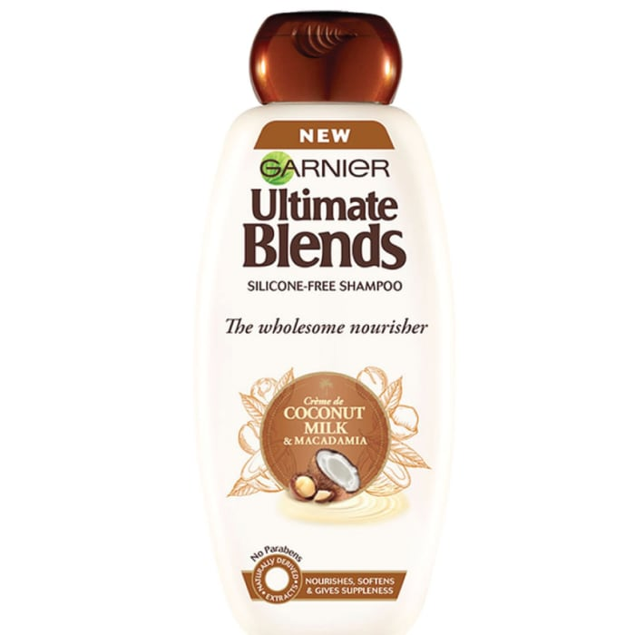 Garnier Ultimate Blend Coconut Milk and Macadamia Shampoo