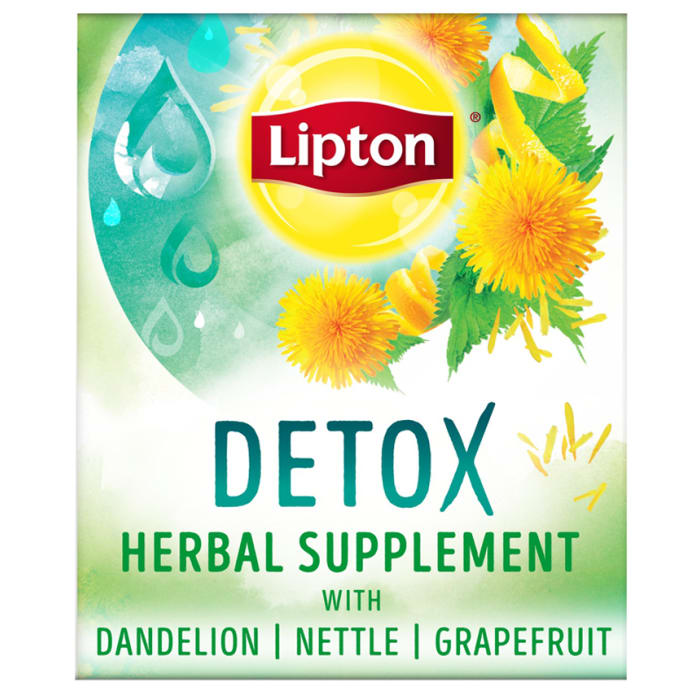 Lipton Herbal Supplement With Green Tea Detox