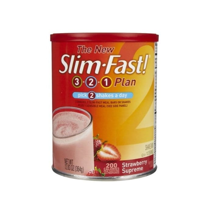 Slim Fast  Strawberry Protein Shake Mix