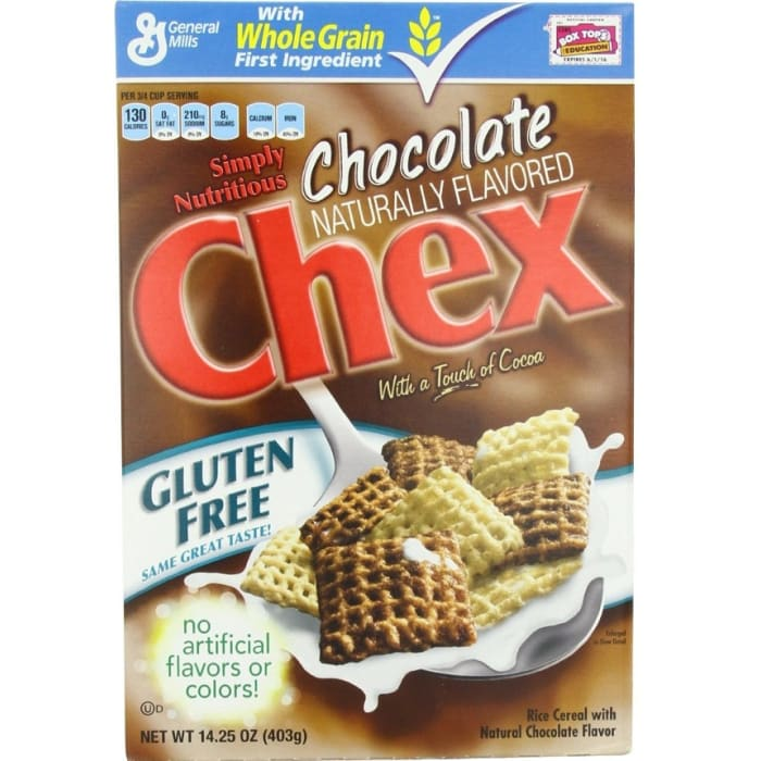 General Mills Gluten Free Chex Cereal Chocolate