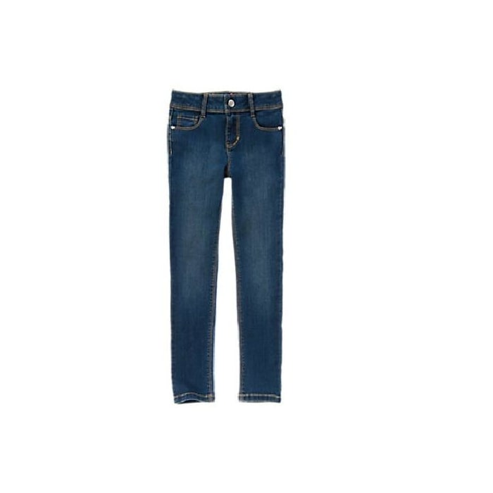 Gymboree Girl Super Skinny Jeans Dark Denim