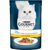 Purina Cat Food Gourmet Perle Mini Fillets Beef 85g