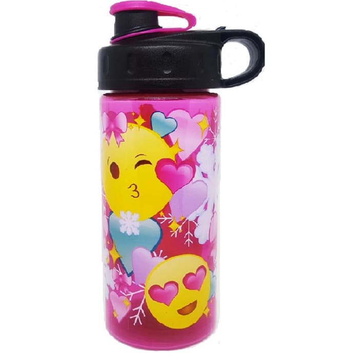 Cool Gear Big Emojis Plastic Water Bottle 473ml