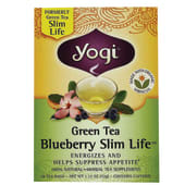 Yogi Organic Slim Life Blueberry Green Tea