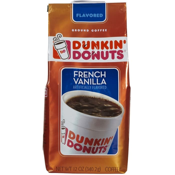 Dunkin Donuts Ground Coffee French Vanilla