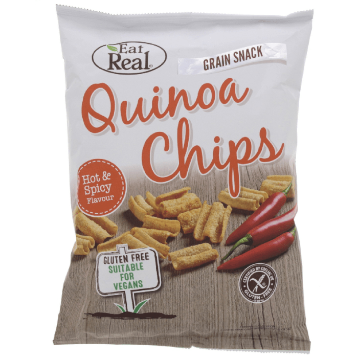 Eat Real Quinoa Hot & Spicy