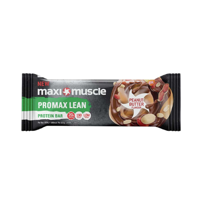 Maximuscle Promax Lean Protein Bar Peanut Butter Flavour