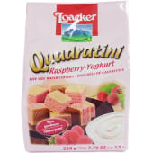 Loacker Quadratini Raspberry-Yoghurt Wafer
