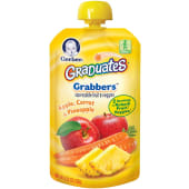 Gerber Baby Food Pouch Apple Carrot Pineapple 120g