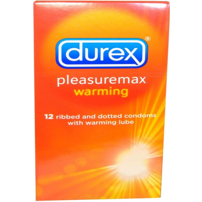 Durex Pleasuremax Warming Condom