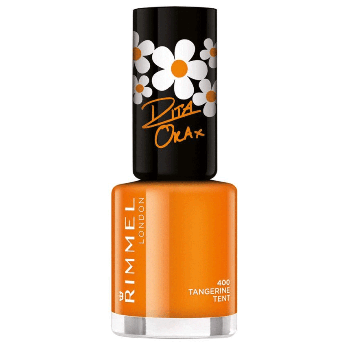 Rimmel London Super Shine Rita Ora Tangerine Tent Nail Polish - 400