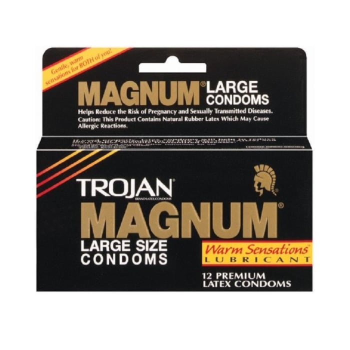 Trojan Condoms Large Magnum Warm Sensations