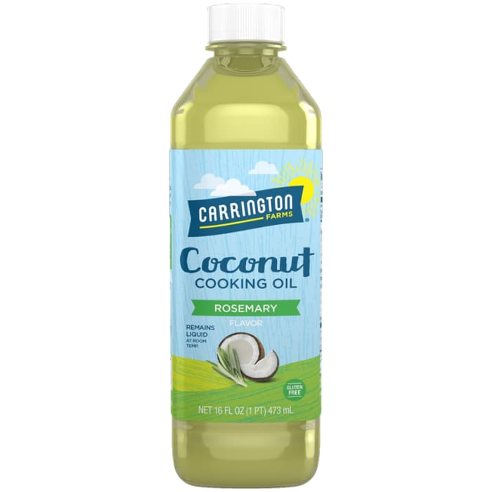 Carrington Farms Rosemary Flavor Coconut Cooking Oil