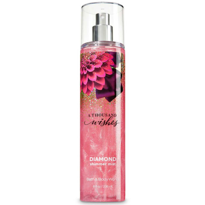 Bath & Body Works a Thousand Wishes Diamond Shimmer Mist 236ml