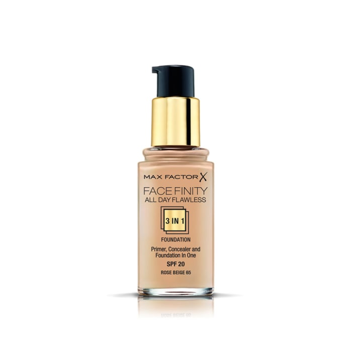 Max Factor Facefinity 3-IN-1 Foundation Rose Beige 65