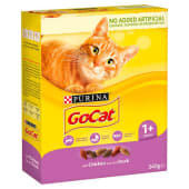 Purina Go Cat Chicken and Duck 340g