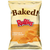 Ruffles Baked Cheddar & Sour Cream Chips