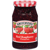 Smuckers Jam Red Raspberry Preserve 510g