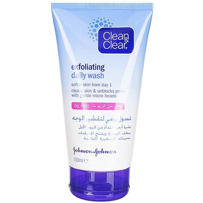 Clean & Clear Exfoliating Daily Face Wash 150ml
