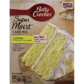 Betty Crocker Cake Mix Lemon