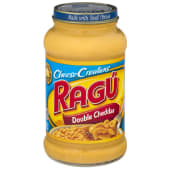 Ragu Cheese Creations Double Cheddar Sauce 453 Grams
