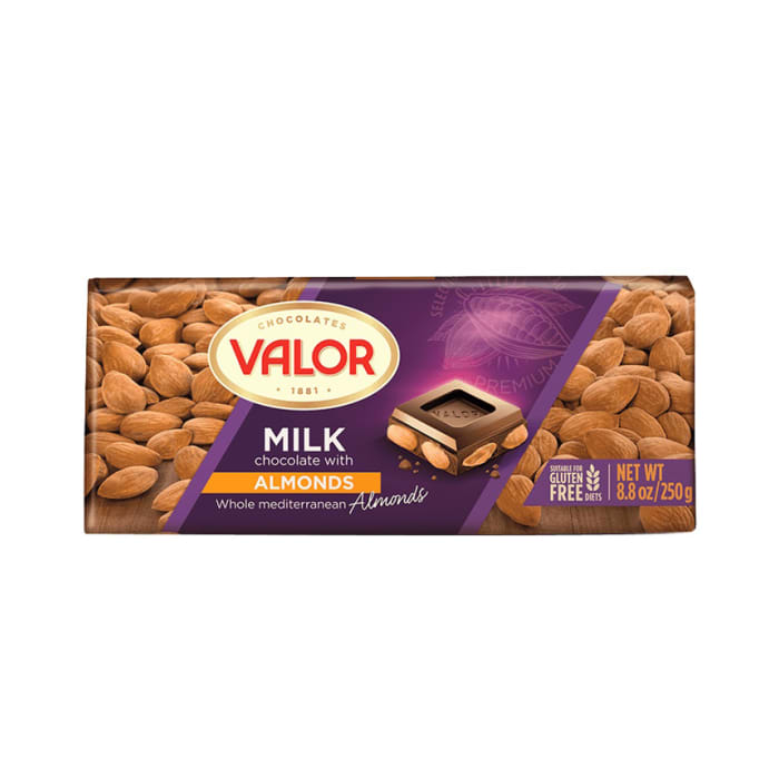 Valor Milk Chocolate With Almond