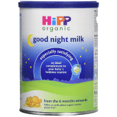 Hipp Organic Good Night Milk from 6 Months Onwards 350 Grams