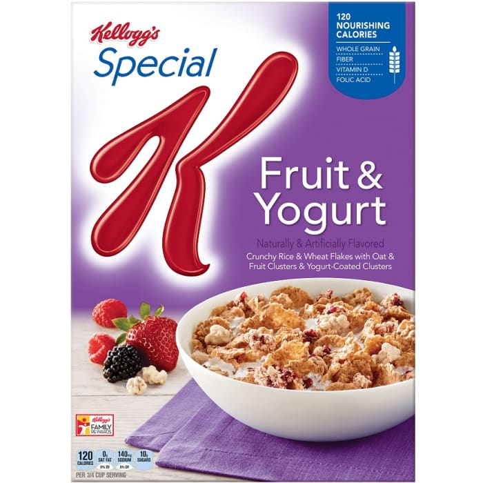 Kelloggs Special K Fruit & Yogurt Cereals