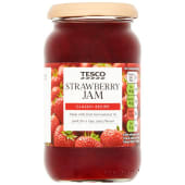 Tesco Strawberry Jam 454g