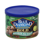 Blue Diamond Almonds Bold Tin Wasabi & Soy Sauce