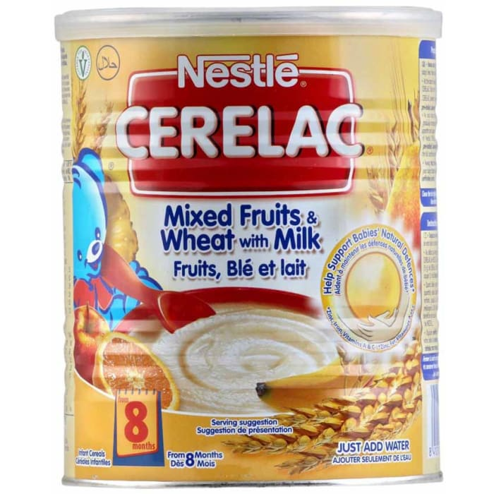 Nestle Mixed Fruits & Wheat With Milk Baby Cereal