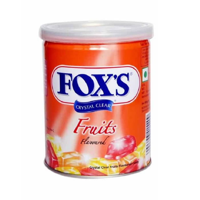 Foxs Candy Fruit Crystal Clear