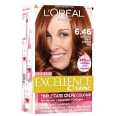 L'Oréal Excellence Creme 6.46 Natural Light Copper Red