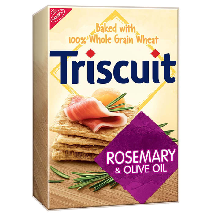 Nabisco Triscuit Rosemary & Olive Oil Crackers