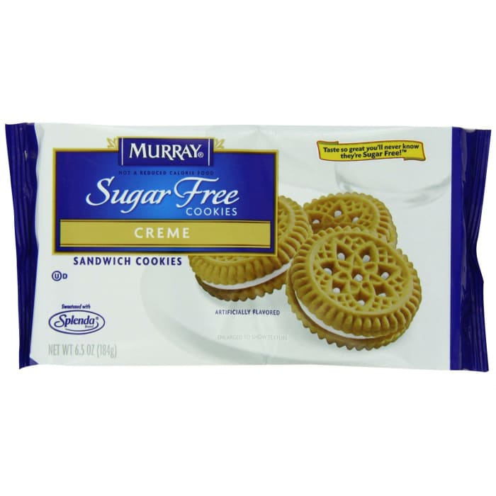 Murray Sandwich Cookies Sugar Free Creme