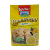 Loacker Quadratini Wafer Cookies Lemon