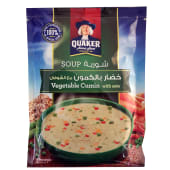 Quaker Vegetable Cumin with Oats Soup