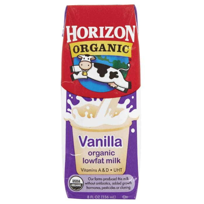 Horizon Organic Low Fat Milk with DHA Omega-3 Vanilla