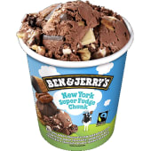 Ben & Jerrys Yew York Fudge Ice Cream