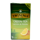 Twinings Green Tea Lemon & Honey 25 Teabags