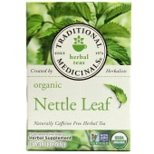 Traditional Medicinals Organic Nettle Leaf Caffeine Free Herbal Tea
