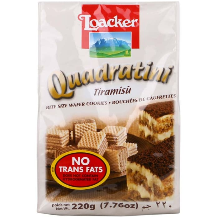 Loacker Biscuits Tiramisu