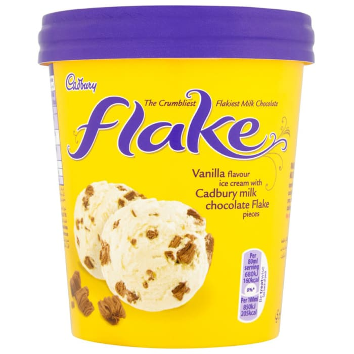 Cadbury Flake Ice Cream