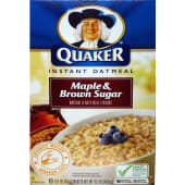 Quaker Instant Oatmeal Maple & Brown Sugar Cereal