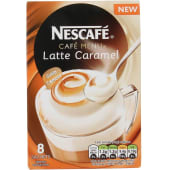 Nescafe Cafe Menu Caramel Latte Coffee
